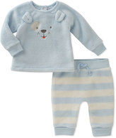 Absorba Blue Stripe Bear Top & Pants - Infant