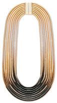 Steve Madden Black & White Ombre Snake Chain Necklace