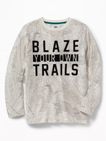 """Old Navy """"Blaze Your Own Trails"""" Tee for Boys"""
