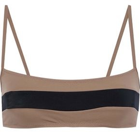 Solid & Striped The Brooke Two-tone Bikini Top