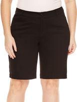ST. JOHN'S BAY St. John's Bay Bermuda Shorts-Plus (11.5)