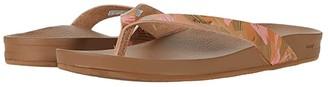 Reef Cushion Bounce Court (Rose Gold) Women's Sandals