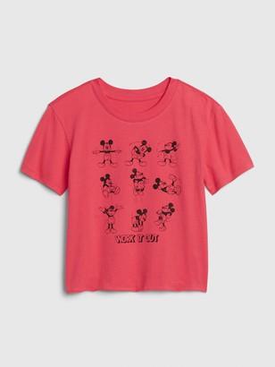 Disney GapKids | Mickey Mouse Graphic Boxy T-Shirt