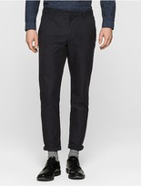 Calvin Klein Twill Fitted Chino Pants