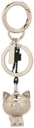 Karl Lagerfeld Paris K/Ikonic 3D Choupette keychain