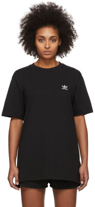 adidas Black Trefoil Essentials T-Shirt