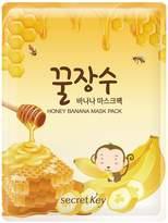 Secret Key Honey Banana Mask Pack - 5 Pack