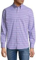 Ralph Lauren Men's Plaid Button-Down Shirt - Pink-green, Size xl
