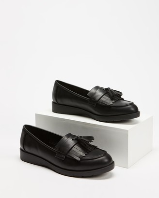 Spurr Women's Black Brogues & Loafers - Jameson Flats - Size 5 at The Iconic