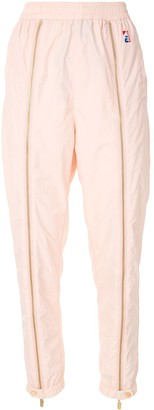 P.E Nation Zip Detail Cuff Track Trousers