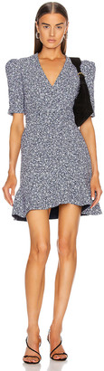 Jonathan Simkhai Evelyn Floral Dress in Midnight | FWRD