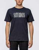 Saturdays NYC Saturdays Condensed S/S T-Shirt