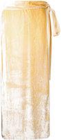 Kitx - Geo Layers skirt - women - Silk/Viscose - 14