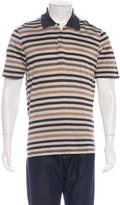 Louis Vuitton Embroidered Striped Polo
