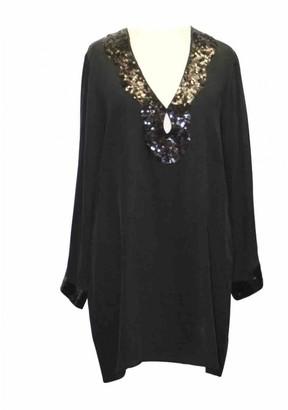 MARIE FRANCE VAN DAMME Black Silk Top for Women