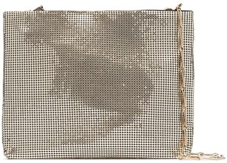 Paco Rabanne Pixel mesh shoulder bag