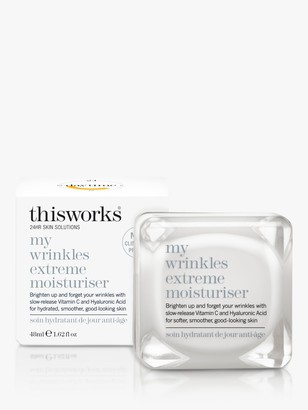 thisworks® This Works My Wrinkles Extreme Moisturiser, 48ml