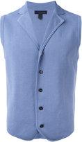Lardini button-up waistcoat