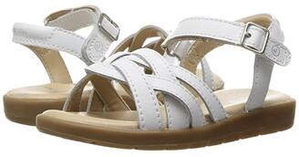 Stride Rite Millie (Little Kid) (White) Girl's Shoes