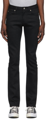 Naked and Famous Denim Black Stretch Skinny Guy Jeans
