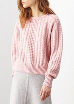 Demy Lee Renee Sweater Blush Pink