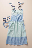 Anthropologie Embroidered Marie Apron