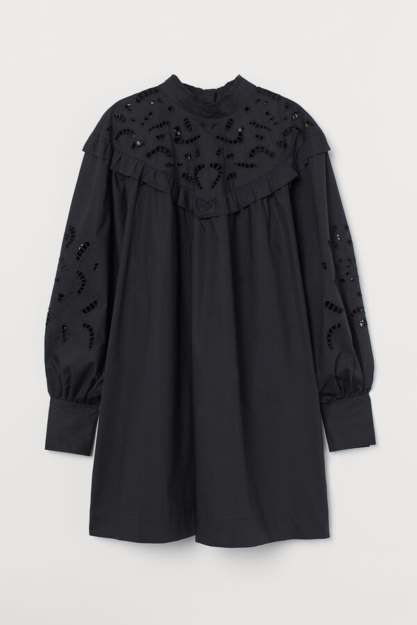 Thumbnail for your product : H&M Broderie anglaise-detail dress