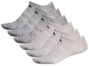 adidas Men's 6-Pack Superlite No-Show Socks