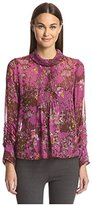 Anna Sui Women's Woods Print Blouse
