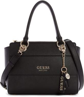 GUESS Regina Society Textured Satchel