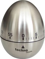 Technoline KZW II Analogue Egg Timer Egg-Shaped Metal