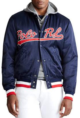 Polo Ralph Lauren Logo Baseball Jacket