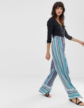 Band of Gypsies stripe trousers-Blue