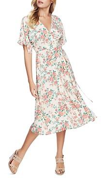 1 STATE Ikat Bouquet Wrap Dress