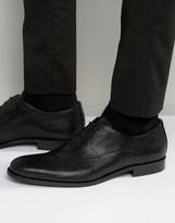 HUGO BOSS BOSS HUGO by Sigma Textured Oxford Shoes
