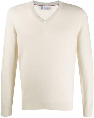 Brunello Cucinelli relaxed-fit cashmere jumper