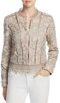 Elie Tahari Leanne Embroidered Jacket