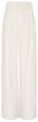 Vince Wide-Leg Belted Trousers