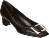 Roger Vivier Belle Vivier Trompette Leather Pump