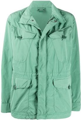 Aspesi Boxy Fit Flap Pockets Coat