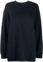 Filippa K Soft Sport oversized long-sleeve sweatshirt