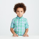 J.Crew Kids' Secret Wash shirt in spring gingham