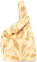 Hayward jacquard shopper tote