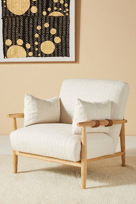 Anthropologie Kershaw Chair By in White Size ALL