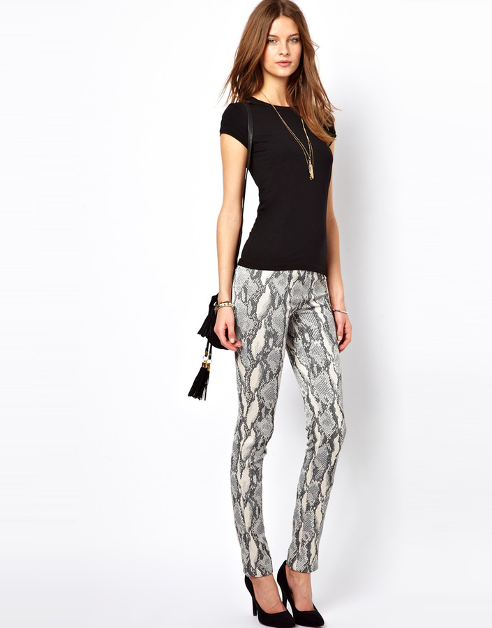 Zadig & Voltaire Zadig and Voltaire Python Legging Pants.