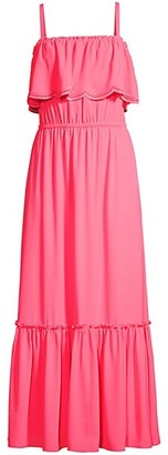 Lilly Pulitzer Adia Ruffle Maxi Dress
