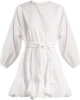 RHODE RESORT Ella belted cotton dress