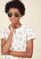 Super Girl Sunglasses in Rose Gold