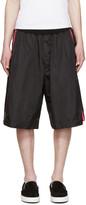DSQUARED2 Black Neon Stripe Shorts
