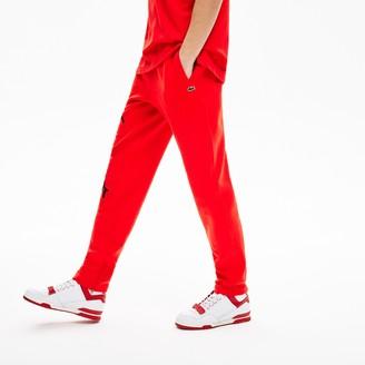 Lacoste Unisex LIVE Signature Textured Fleece Sweatpants